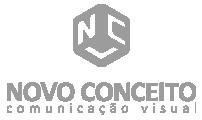 Logotipo rodapé Novo Conceito Visual