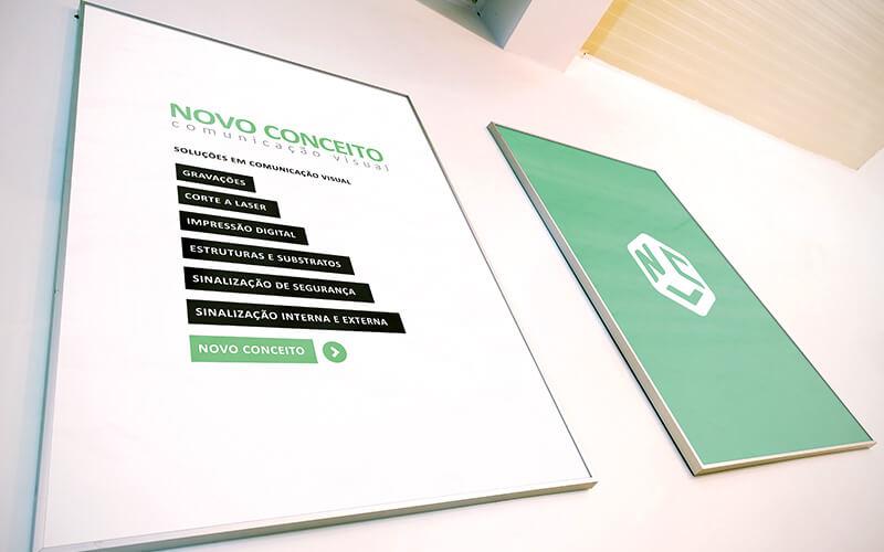 Novo Conceito - Comunicação Visual